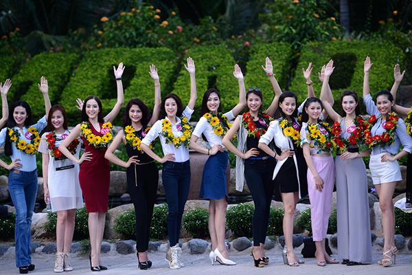 nhiều thí sinh cho biết họ rất háo hức khi đến Nha Trang, bên cạnh những thí sinh đã đến Nha Trang nhiều lần, có những thí sinh cho biết họ lần đầu đến thành phố biển xinh đẹp này. Thậm chí, có những thí sinh tâm sự lần đầu được đi máy bay nên rất hồi hộp.