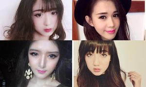 4 hot girl 'không thể sống thiếu kính áp tròng'