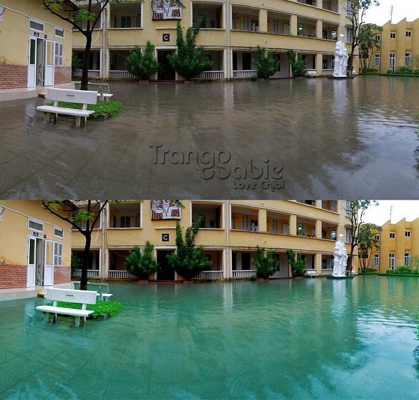 Sài Gòn ngập nước được chế thành 'thiên đường Maldives'