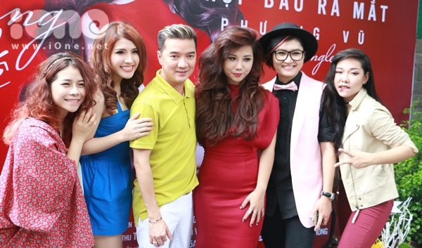 Top 5 của đội Đàm Vĩnh Hưng tại Giọng hát Việt 2015,