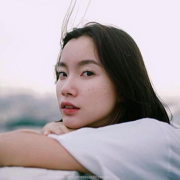 Vẻ đẹp của chị cũng được so sánh với người mẫu Nhật nổi tiếng Kiko Mizuhara.