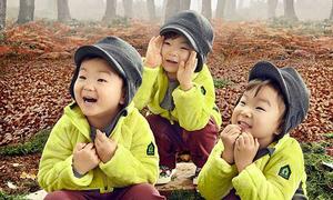 Những đặc điểm giống bố, mẹ của các nhóc tỳ nhà sao Hàn