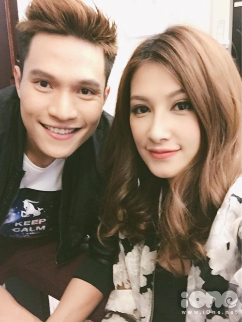 Emmy và diễn viên Minh Anh trong Chiến dịch chống ế.