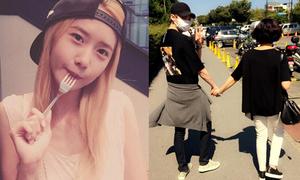 Sao Hàn 3/10: Lee Jong Suk được mẹ dắt đi chơi, Yoon Ah ngậm dĩa kute