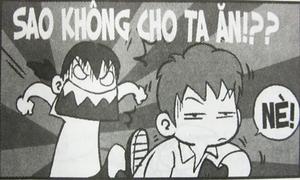 Fun pic: Cuộc chiến vì 'miếng ăn' nơi lớp học