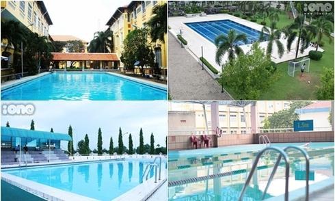 Hồ bơi hoành tráng của 4 trường THPT Sài thành
