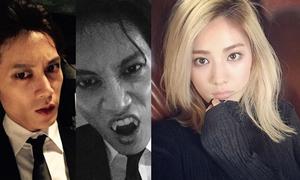 Sao Hàn 7/10: Nana đổi gió với tóc vàng hoe, Ji Sung nhe răng nhọn hoắt