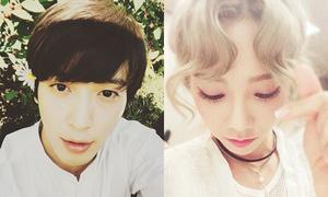 Sao Hàn 9/10: Tae Yeon khoe tóc mái hình tim, Yong Hwa đẹp hơn hoa