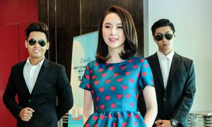 Angela Phương Trinh được vệ sĩ tháp tùng đi sự kiện