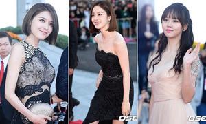 Dàn sao Hàn diện đồ dạ hội lộng lẫy dự Korea Drama Awards