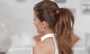 Mẹo giúp tóc đuôi ngựa trông dày dặn hơn