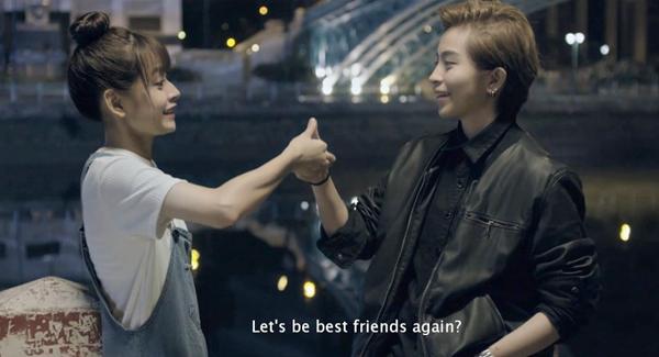 Trong trailer có phân cảnh  gặp gỡ sau 10 năm chia cách của Tú và Nhi và cũng từ lúc này tình bạn thời thơ ấu của họ bắt đầu biến chuyển, một thứ tình cảm mới xuất hiện.