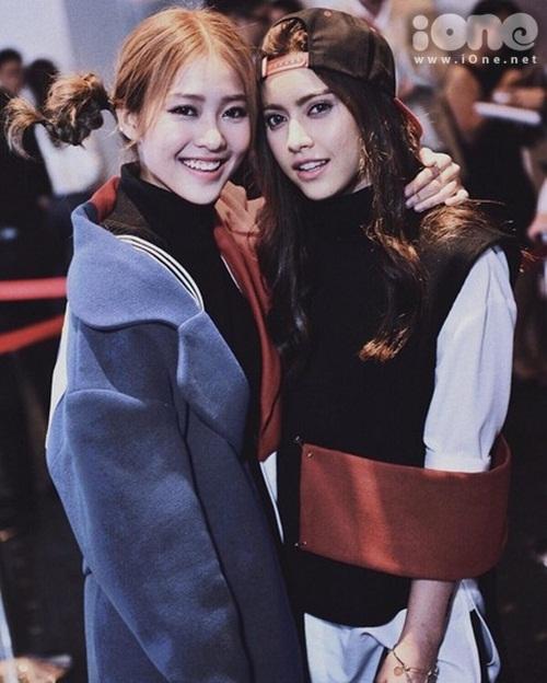 Bên cạnh tình bạn thân trong giới hot teen với Quỳnh Anh Shyn, Phương Ly& thì gần đây Khả Ngân chia sẻ thêm một tình bạn người Thái Lan tên Chanya Sawadivichaikul.