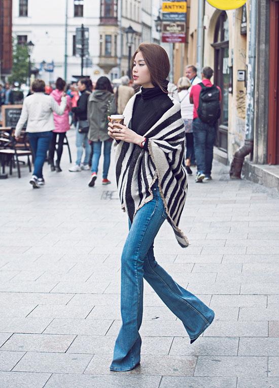 Từng là mỹ nhân ăn mặc có phần nghèo nàn, có phần khá quê nhưng giờ đây Diễm Trang đang dần vươn mình trở thành một trong những biểu tượng thời trang của Vbiz.