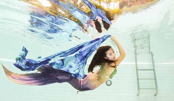 Theo giáo viên dạy học làm nàng tiên cá, khi bơi như một nàng tiên cá, bạn sẽ giải phóng khỏi những giới hạn
