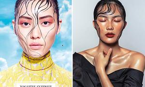 3 hot girl Việt giống người mẫu quốc tế như chị em