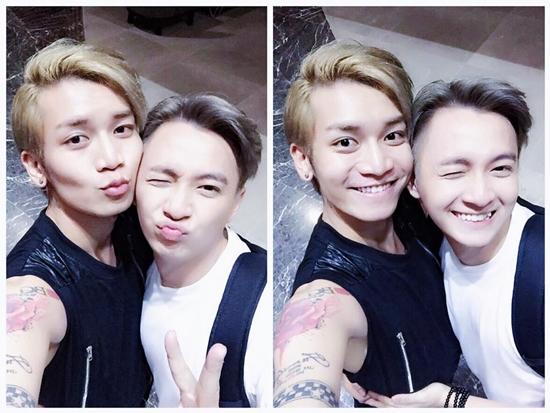 Thời gian gần đây, BB Trần và Ngô Kiến Huy khá thân thiết khi có dịp thực hiện với nhau nhiều chương trình. Cả hai khoe những bức ảnh má kề má tình cảm khiến các fan tha hồ bình luận.