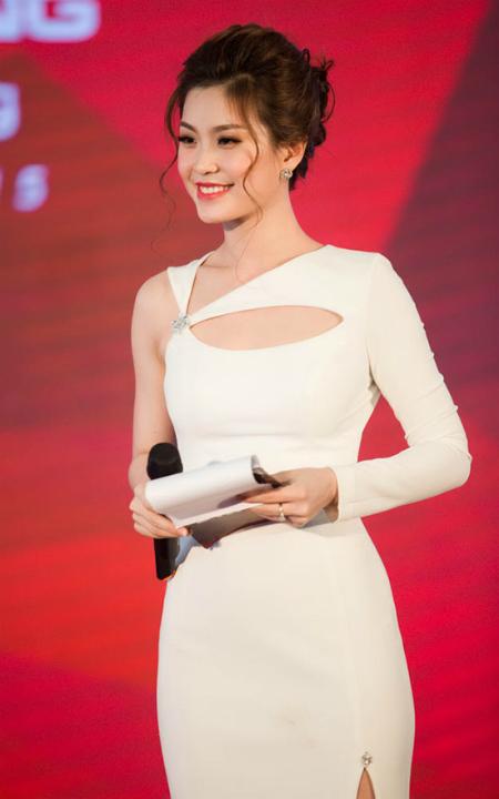 ết thúc sự kiện, đông đảo khách mời đã dành nhiều khen ngợi cho mỹ nhân sinh năm 1991. Khả năng ngoại ngữ tốt giúp Diễm Trang đang được nhiều đối tác nước ngoài mời hợp tác các sự kiện khác.