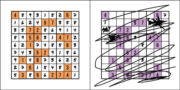 Có những người luôn kiên nhẫn với trò chơi Sudoku và ngược lại.
