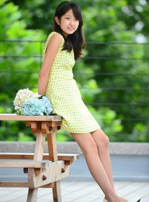 """Tuy vậy, Ji Min chưa thể hiện được nhiều trong diễn xuất, sự nghiệp của cô bạn """"lép vế"""" hơn khá nhiều so với Kim Sae Ron, Kim Hyang Gi, Jung Da Bin."""