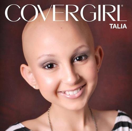 Talia là cô bé nổi tiếng YouTube với tấm gương chiến đấu ung thư suốt 6 năm.