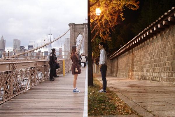 Shin Dan Bi sống ở New York, trong khi