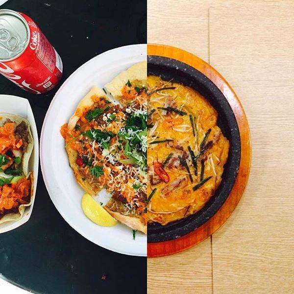 Thậm chí món pizza yêu thích cũng được cả hai ăn cùng lúc. Dù hương vị khác nhau nhưng họ vẫn cảm thấy
