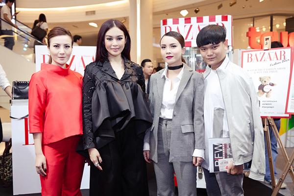 Duang - Fashionista, tổng biên tạp chí Harper's Baazar Thái Lan