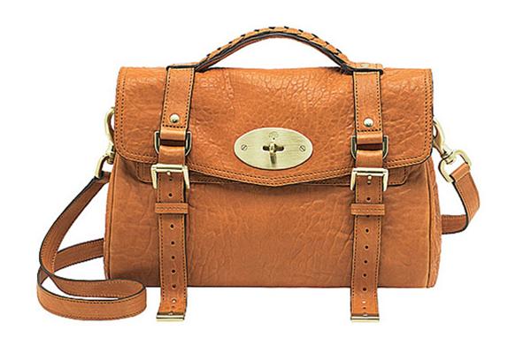 Satchel:túi xách tay cỡ trung, có dây dài để đeo vai và nắp đậy kèm khóa cài phía trước