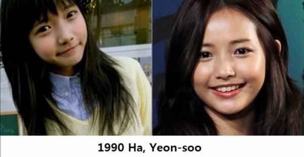 Nhan sắc của idol nữ xứ Hàn thời mới nổi và khi thành sao bự