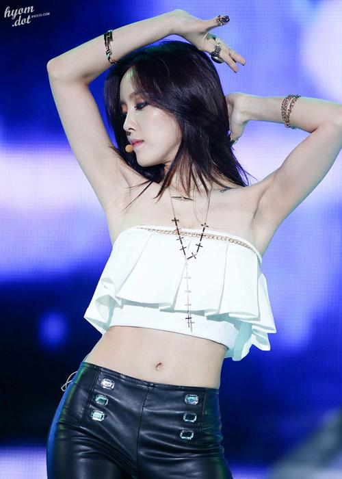 4 mỹ nữ Hàn có thân hình 'đồng hồ cát' đáng ghen tỵ