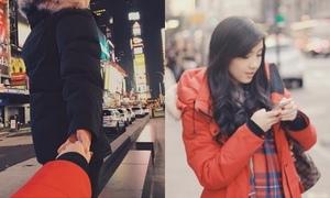 Chia tay JV, Mie khoe ảnh nắm tay trai lạ ở New York