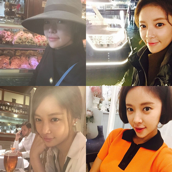 Trong rất nhiều ảnh selca, Hwang Jung Eum đều thích chạy sang góc trái hình để chụp. Có lẽ mặt bên trái là góc độ Jung Eum ưng ý nhất.