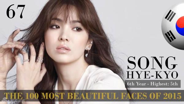 Những sao Hàn lọt top 100 gương mặt đẹp nhất thế giới 2015