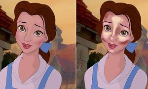 Bí quyết trang điểm tạo khối của nhân vật Disney