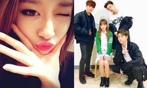 Sao Hàn 20/1: Ji Yeon tự tạo cằm V-line, Dara được các trai đẹp vây quanh