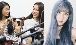 Sao Việt 22/1: Lan Khuê làm tóc cho Phạm Hương, Quỳnh Anh Shyn hóa Thủy thủ mặt trăng