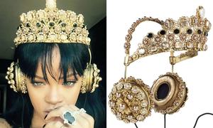 Mẫu tai nghe vương miện 'cháy hàng' nhờ Rihanna