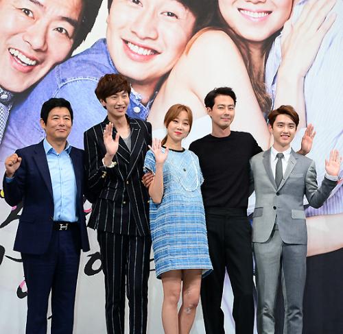 Jo In Sung 1m88, Lee Kwang Soo 1m90, Do Sang Woo đóng vai Choi Ho - bạn trai   cũ của nữ chính Hae Soo cũng là diễn viên xuất thân người mẫu, có chiều cao 1m87