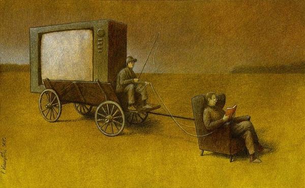 Nếu chỉ xem tivi, suốt đời bạn chỉ theo sau những người luôn