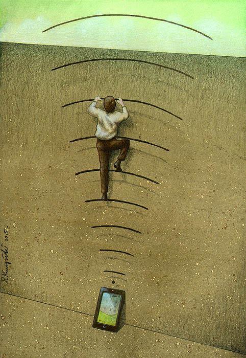 Con người đang ngày càng phụ thuộc vào các thiết bị công nghệ để có thể giao tiếp với thế giới bên ngoài.