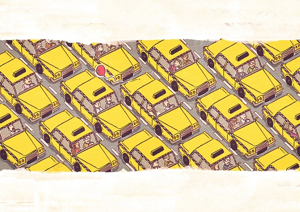 Dù là ở giữa đường phố đầy xe cộ...