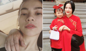 Sao Việt 9/2: Hà Hồ khoe bạn trai, Huyền Baby diện áo dài đôi với con gái