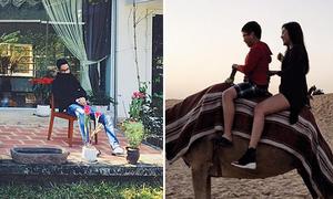 Sao Việt 12/2: JV khoe nhà biệt thự, Huyền My cưỡi lạc đà ở Dubai