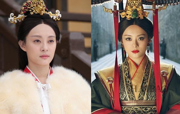 Phần đầu phim, Mị Nguyệt (Tôn Lệ đóng) chỉ trang điểm nhẹ nhàng để thể hiện sự trong   sáng, hiền hòa. Sau khi hóa