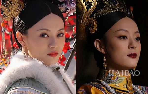 Sự thay đổi về diện mạo của nhân vật Chân Hoàn trong Hậu cung Chân Hoàn truyện   không mấy khác biệt so với Mị Nguyệt, thậm chí trông còn ghê gớm hơn.