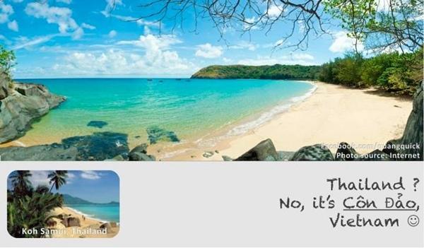 Ngay cả ở Côn Đảo cũng có những bãi biển đẹp không kém