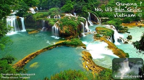 Những thác nước hùng vĩ này có ngay ở Bản Giốc nước ta, thay vì