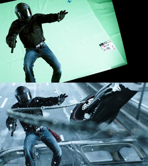 Deadpool có ngân sách khiêm tốn (58 triệu USD) nhưng các cảnh chiến đấu đa   dạng như bắn súng trên cao tốc, nhào lộn và chém giết bằng gươm, tấn công lẫn   nhau bằng siêu năng lực đều khiến khán giả cảm thấy không thua kém bom tấn nào.