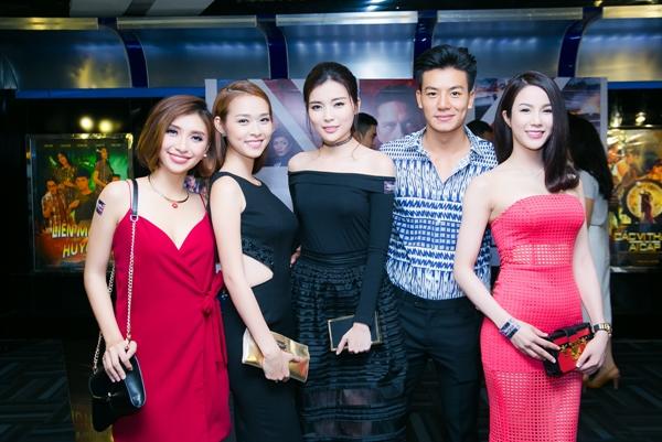 Tham dự sự kiện còn có diễn viên Diệp Lâm Anh và Hiếu Nguyễn.